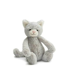 Jelly Cat Peluche Chat gris moyen