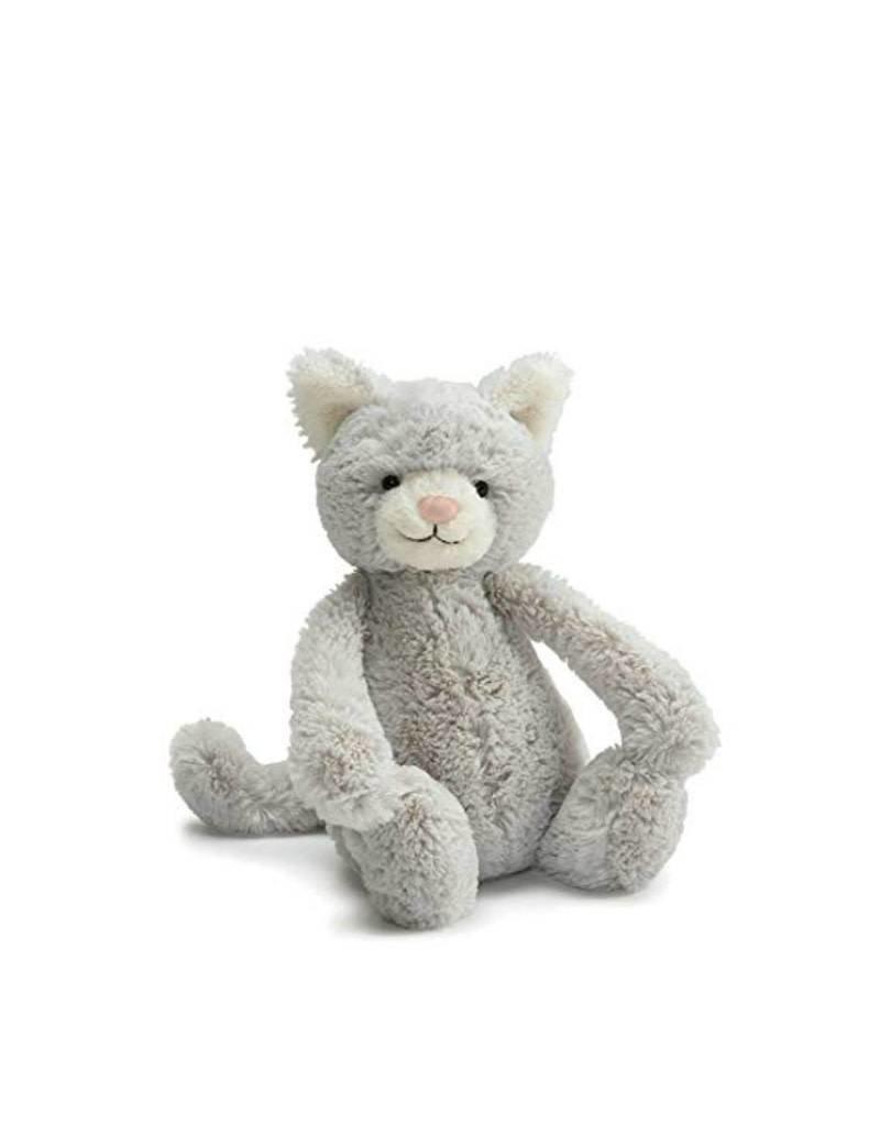Jelly Cat Peluche Chat gris moyen