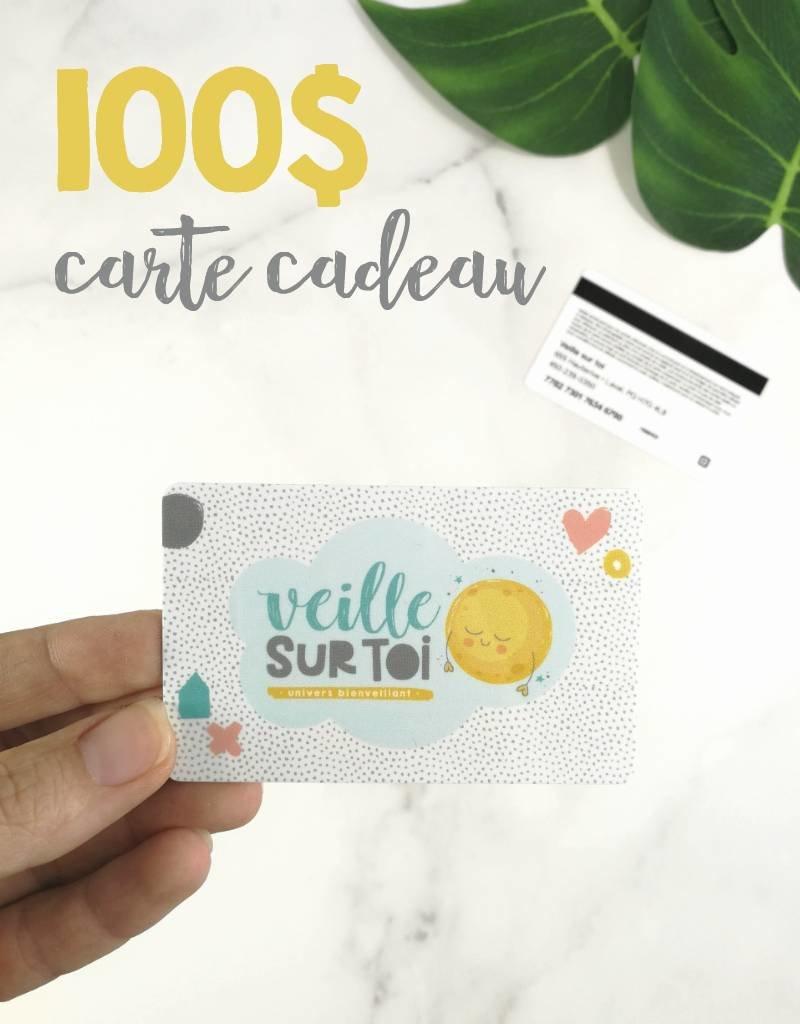 Veille sur toi Carte cadeau - 100$