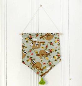 MLaure Decorative banner - Sloths