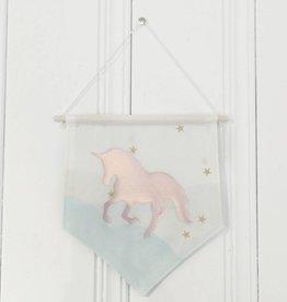 MLaure Decorative banner - Unicorn