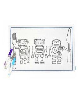 Couleur-Moi Napperon à colorier - Robot