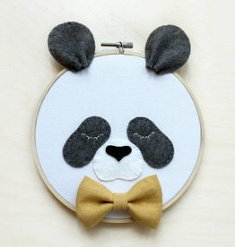 Délika tout-petit Décoration murale - Panda et noeud papillon