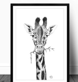 Le nid atelier Illustration - Girafe