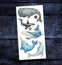 Pico Tatouage - Les belles baleines
