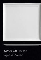 """UNIVERSAL ENTERPRISES, INC. 16.25"""" Square Platter"""