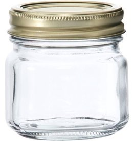 ANCHOR HOCKING Anchor Glass 8 oz. Mason/Canning Jar 1/2 Pint