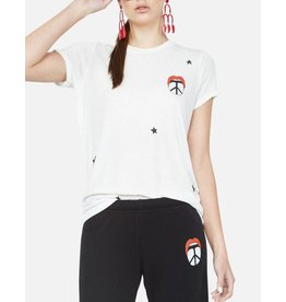LAUREN MOSHI MARINA PEACE TONGUE TEE