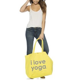 PEACE LOVE WORLD I LOVE YOGA LULY BAG
