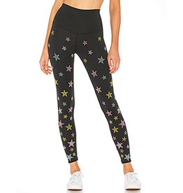 BEACH RIOT HARPER RAINBOW STAR LEGGING