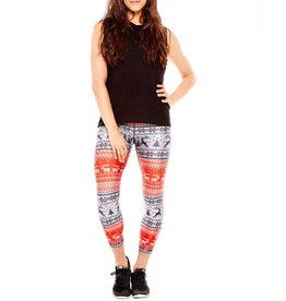 REINDEER PERFORMANCE CAPRI LEGGING