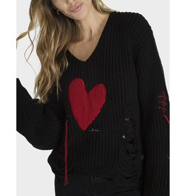PEACE LOVE WORLD GRAZIELLA SWEATER
