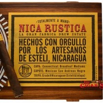 Nica Rustica by Drew Estate Belly Box of 25