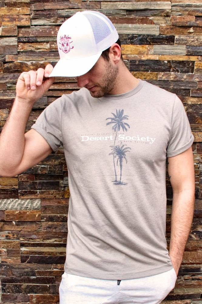 Twin Palms Desert Society Rolled Tee