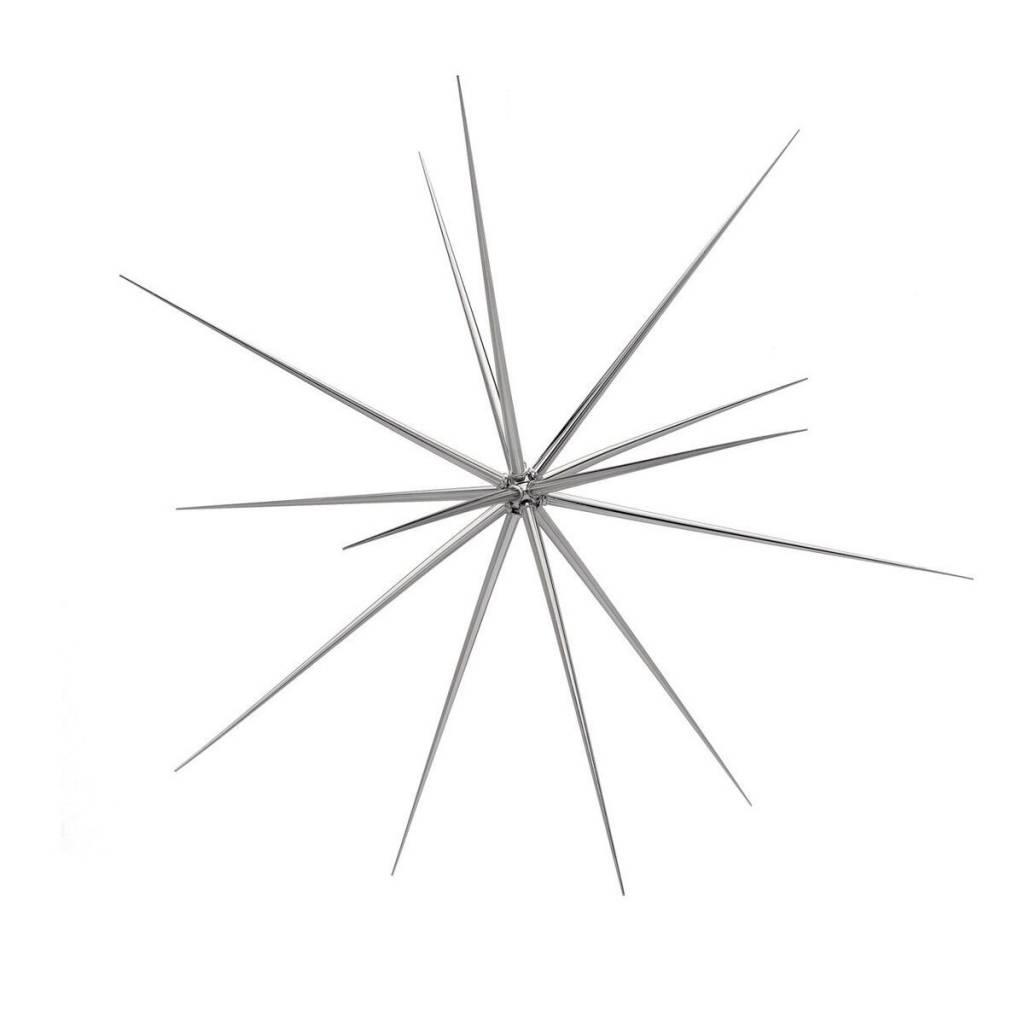 Torre & Tagus Sputnik Hanging Decoration Small- Silver