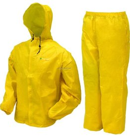 Frogg Toggs Rain Suit Yellow XL Frogg Toggs UL12104-08XL Ultra Lite