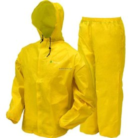 Frogg Toggs Ultra Lite Suit Yellow Medium Frogg Toggs UL12304-08MD Youth