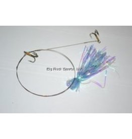 Blue Water Candy Featherweight King Rig Dbl #4Treble Blue Water Candy 35253