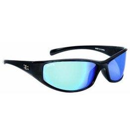 Calcutta Shiny Black/Blue Mirror 66mm Lens Calcutta CB1BM Cabo Sunglasses