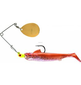 Bomber Spinnerbait 1/8oz Chartreuse/New Bomber BSWDB117 Drumbeater Coastal