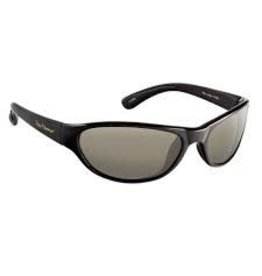 Flying Fisherman Key Largo Matte Blk Frame Smoke Lens Flying Fisherman 7865BS Sunglass