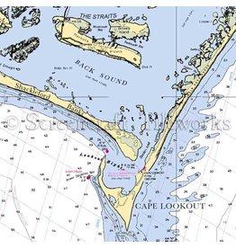 Captain Seagulls Cape Lookout Charts