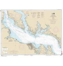 Captain Seagulls Lower Neuse River, NC Chart
