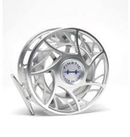 Hatch Finatic 11 Plus Large Arbor Fly Reel-Clear/Blue