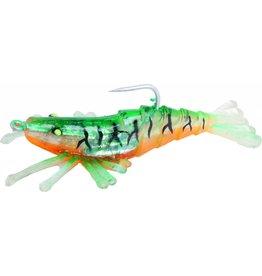 Billy Bay Sinker Shrimp, 1/4 oz, Green Tiger Billy Bay 972-4-3-9 Halo Perfect