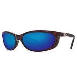 Costa 580P Blue Mirror, Tortoise Nylon Costa FA10OBMP Fathom Sunglasses