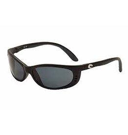 Costa 580P Gray, Matte Black Nylon Frame Costa FA11OGP Fathom Sunglasses