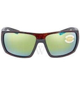 Costa 580P Green Mirror, Tortoise Nylon Costa HL10OGMP Hamlin Sunglasses
