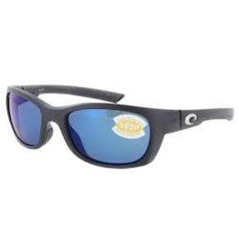 Costa 580P Matte Black Frame Blue Mirror Costa GT11OBMP Trevally Sunglasses