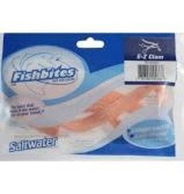 "Fishbites Lasting Bait Strips, 1/2"" W x 12"" L Fishbites 0066 E-Z Clam Longer"