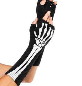 LGA Fingerless Skeleton Gloves