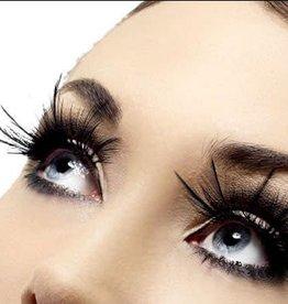 SMF Eyelashes With Feather Plumes