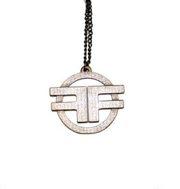 RW Ff Logo Necklace Old Steel
