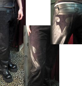 CLR Rock And Roll Leather Contrast Pants
