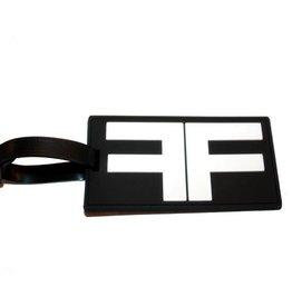 FF Fetish Factory Logo Luggage Tag