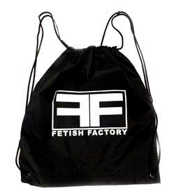 FF Fetish Factory  Logo Drawstring Bag