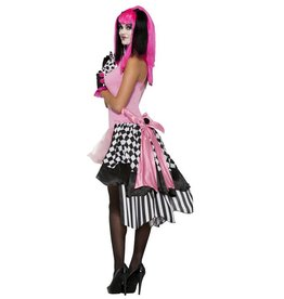 FN Harlequin Clown Bustle