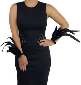 ZFP Feather Flair Cuffs With Velco Closure