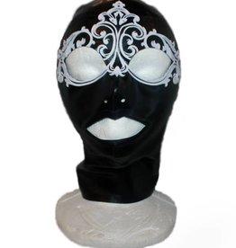 MKL Full Face Hood With Laser Cut  Mask Detail