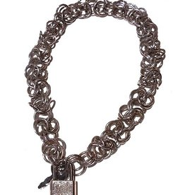 FF Triple Chain Choker With Lock