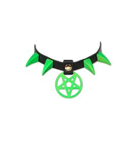 FPL Pentagram Collar With Claw Spikes