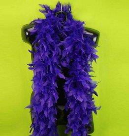 BP Feather Boa 6 ft. Dark Purple