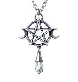 LOE Pewter Goddess Pendant