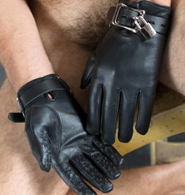 str Hands Off Locking Vampire Gloves