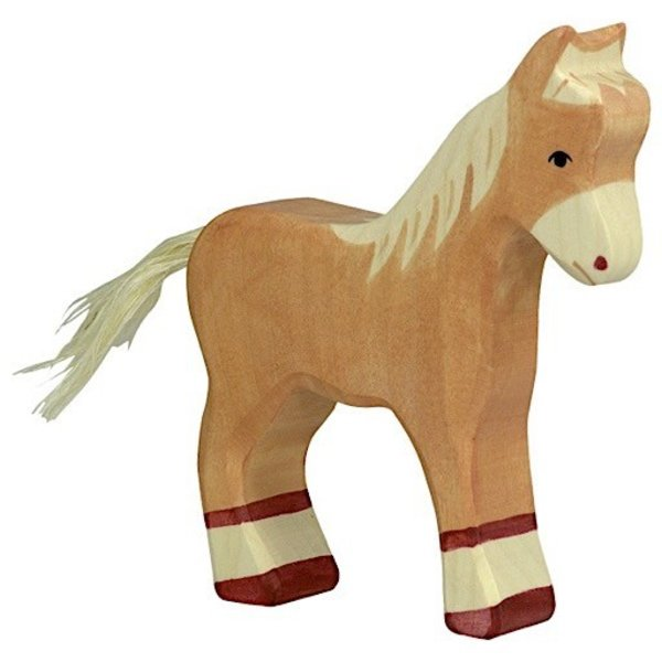 Holztiger Wooden Horse - Palomino Foal