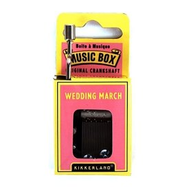 Music Box - The Wedding March